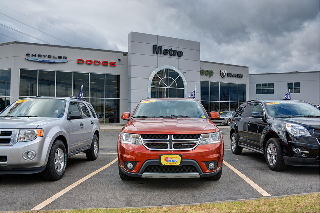 Metro Chrysler Dodge Jeep RAM!